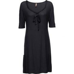 Sukienki hiszpanki: Sukienka shirtowa bonprix czarny