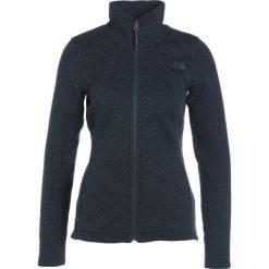 The North Face CRESCENT  Kurtka z polaru mottled dark blue. Różowe kurtki sportowe damskie marki The North Face, m, z nadrukiem, z bawełny. W wyprzedaży za 303,20 zł.
