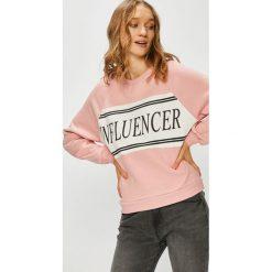 Tally Weijl - Bluza. Szare bluzy z nadrukiem damskie marki TALLY WEIJL, m, z bawełny, bez kaptura. W wyprzedaży za 69,90 zł.
