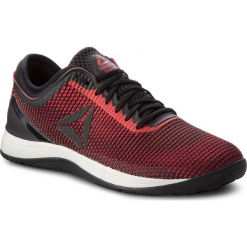 Buty Reebok - R Crossfit Nano 8.0 CN5656 Black/Red/Chalk. Czarne buty fitness męskie Reebok, z materiału. W wyprzedaży za 409,00 zł.