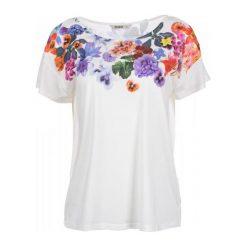 Desigual Desigual T-Shirt Damski M Biały. Białe t-shirty damskie Desigual, m, w kolorowe wzory. W wyprzedaży za 169,00 zł.