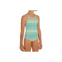 b5a2a84f034bbb Kostium kąpielowy jednoczęściowy HANALEI SAMOA dla dzieci. Niebieskie  bluzki dziewczęce OLAIAN, bez wzorów,