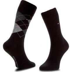 Skarpety Wysokie Męskie TOMMY HILFIGER - 391156 r. 39/42 Black 200. Czerwone skarpetki męskie marki Happy Socks, z bawełny. Za 54,99 zł.