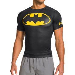 Under Armour Koszulka męska Alter Ego Transform Yourself Batman czarna r. S (1244399006). Białe koszulki sportowe męskie marki Adidas, l, z jersey, do piłki nożnej. Za 160,00 zł.