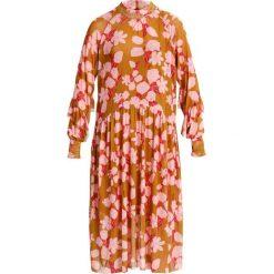 Długie sukienki: YAS YASHAZEL  Długa sukienka golden spice