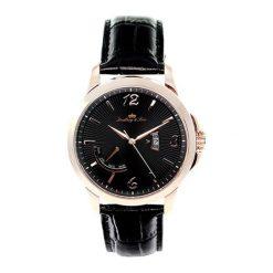 """Zegarki męskie: Zegarek """"LS15H10"""" w kolorze czarno-różowozłotym"""