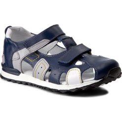 Sandały męskie skórzane: Sandały KORNECKI – 03752 W/Kobalt/S