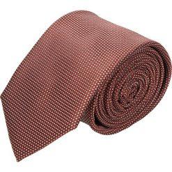 Krawat platinum bordo classic 222. Brązowe krawaty męskie Recman. Za 49,00 zł.