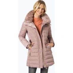 Esprit Collection - Damska kurtka pikowana, różowy. Czerwone bomberki damskie Esprit Collection, l, w paski, z futra. Za 699,95 zł.