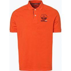 Ocean Cup - Męska koszulka polo, pomarańczowy. Brązowe koszulki polo Ocean Cup, m, z nadrukiem. Za 49,95 zł.