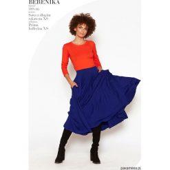 Bluzki damskie: Bluzka SAWA z długim rękawem pomarańczowa