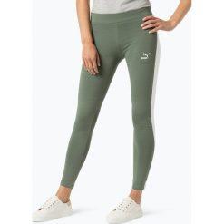 Puma - Sportowe legginsy damskie, biały. Białe legginsy sportowe damskie Puma, l, w paski. Za 179,95 zł.