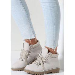 Jasnoszare Traperki Good Romance. Czerwone buty zimowe damskie marki vices. Za 69,99 zł.