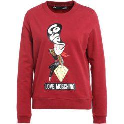 Odzież damska: Love Moschino Bluza red