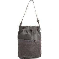 Torebka CREOLE - K10417  Dolaro Z. C. Szary. Szare torebki worki Creole, ze skóry. W wyprzedaży za 239,00 zł.