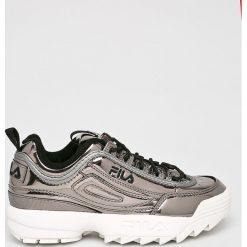 Fila - Buty Disruptor M Low. Szare buty sportowe damskie marki adidas Originals, z gumy. Za 499,90 zł.