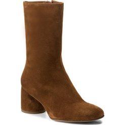 Kozaki HÖGL - 4-106122 Toffee 2200. Czarne buty zimowe damskie marki HÖGL, z materiału. W wyprzedaży za 399,00 zł.