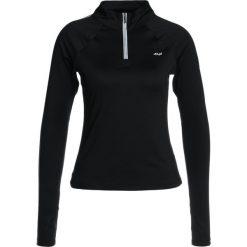 Röhnisch HALF ZIP Bluzka z długim rękawem black. Czarne bluzki asymetryczne Röhnisch, m, z elastanu, z długim rękawem. W wyprzedaży za 237,30 zł.