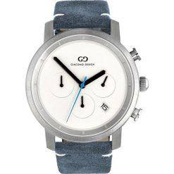 Zegarek Giacomo Design Męski  GD11003 Chronograf niebieski. Niebieskie zegarki męskie Giacomo Design. Za 642,00 zł.