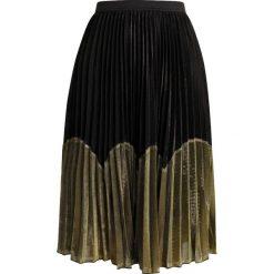 Spódniczki trapezowe: Navy London ZIGGY Spódnica trapezowa gold