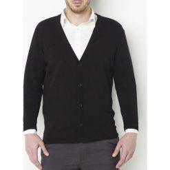 Kardigany męskie: Sweter na guziki z czystej bawełny
