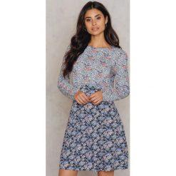 Sukienki hiszpanki: Moves Sukienka Gardena – Blue,Multicolor