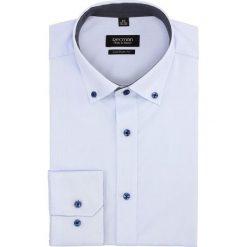 Koszula bexley 2322/2 długi rękaw custom fit niebieski. Szare koszule męskie marki Recman, na lato, l, w kratkę, button down, z krótkim rękawem. Za 129,00 zł.