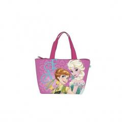 Kraina Lodu Elsa Frozen Duza Torba Plażowa Na Plażę Torebka. Różowe torby plażowe marki Świat Bajek. Za 39,90 zł.
