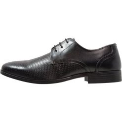 Buty wizytowe męskie: Burton Menswear London BAINES DERBY Eleganckie buty black