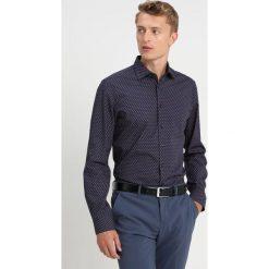 Seidensticker NEW KENT Koszula dark blue/red. Niebieskie koszule męskie Seidensticker, m, z bawełny, z klasycznym kołnierzykiem. Za 349,00 zł.