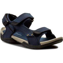 Sandały GINO ROSSI - MN2443-TWO-BN00-5700-T  59. Niebieskie sandały męskie skórzane Gino Rossi. W wyprzedaży za 159,00 zł.