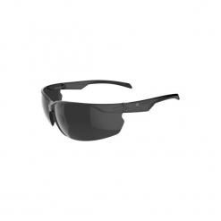 Okulary przeciwsłoneczne na rower ST100 szare KAT. 3. Szare okulary przeciwsłoneczne damskie aviatory B'TWIN, z gumy. Za 19,99 zł.