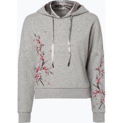 Bluzy damskie: ONLY - Damska bluza nierozpinana – Sanne, szary