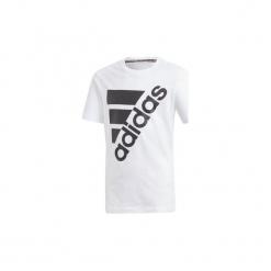 T-shirty z krótkim rękawem Dziecko  adidas  Must Haves Koszulka Badge of Sport. Niebieskie t-shirty chłopięce z krótkim rękawem marki S.Oliver, z nadrukiem, z bawełny. Za 69,95 zł.