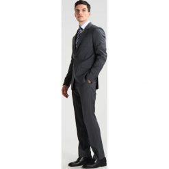 Pier One Garnitur grey melange. Szare garnitury marki Pier One, z materiału. W wyprzedaży za 461,45 zł.