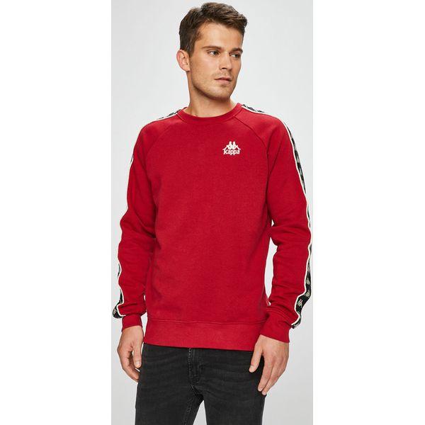 wyprzedaż ze zniżką 50% zniżki jak kupić Kappa - Bluza - Czerwone bluzy męskie Kappa, s, z nadrukiem ...