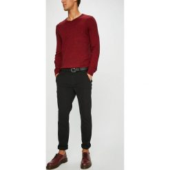 Medicine - Spodnie Basic. Szare chinosy męskie MEDICINE, w paski, z bawełny. Za 129,90 zł.