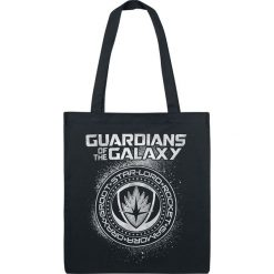 Torebki i plecaki damskie: Guardians Of The Galaxy Seal Torba płócienna czarny