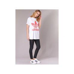 T-shirty z krótkim rękawem adidas  BIG TREFOIL TEE. Białe t-shirty damskie marki Adidas. Za 119,20 zł.