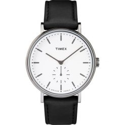 Timex - Zegarek TW2R38000. Czarne zegarki męskie marki Fossil, szklane. W wyprzedaży za 369,90 zł.