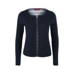 Swetry klasyczne damskie: S.Oliver Sweter Damski 38 Ciemnoniebieski