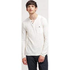 Swetry klasyczne męskie: Solid EBER Sweter offwhite