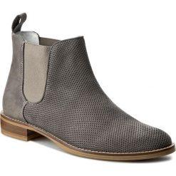 Sztyblety GINO ROSSI - Nervia DSG928-Q20-5L00-8500-0 90. Szare buty zimowe damskie Gino Rossi, z nubiku, na obcasie. W wyprzedaży za 279,00 zł.
