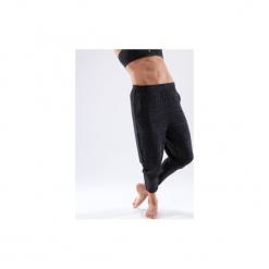 Spodnie marchewki do tańca nowoczesnego damskie. Czarne bryczesy damskie DOMYOS, l, z elastanu, na fitness i siłownię. Za 69,99 zł.