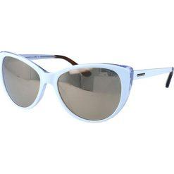 """Okulary przeciwsłoneczne damskie: Okulary przeciwsłoneczne """"GU7427"""" w kolorze błękitno-brązowym"""