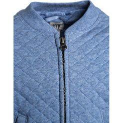 GAP TODDLER GIRL  Kurtka przejściowa blue heather. Niebieskie kurtki dziewczęce przeciwdeszczowe GAP, z bawełny. W wyprzedaży za 125,10 zł.