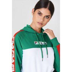 Bluzy damskie: FILA Bluza z kapturem Chelsea - Green,Multicolor