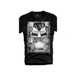 T-shirt UNDERWORLD Organic Cotton Hedonism. Szare t-shirty męskie z nadrukiem marki Underworld, m, z bawełny. Za 69,99 zł.
