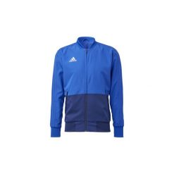 Bluzy dresowe adidas  Bluza wyjściowa Condivo 18. Niebieskie bluzy dresowe męskie marki Adidas, m. Za 229,00 zł.