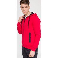 Bejsbolówki męskie: Bluza męska BLM215 - czerwony